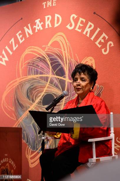 Phylicia Rashad reads Kobe Bryant's new book during the launch of Granity Studios' debut book The Wizenard Series Training Camp to young athletes at...