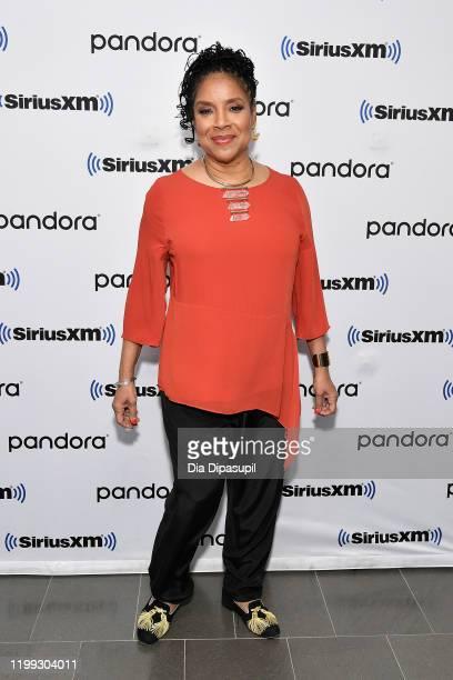 Phylicia Rashad visits SiriusXM Studios on January 13, 2020 in New York City.