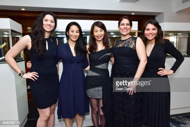 Phylicia RodriguezChiu Veronica Yeung Anna Lin Maria Saxon and Marina Vieira attend Fortuna Presents the Collection of Bo Legendre at The Surrey...