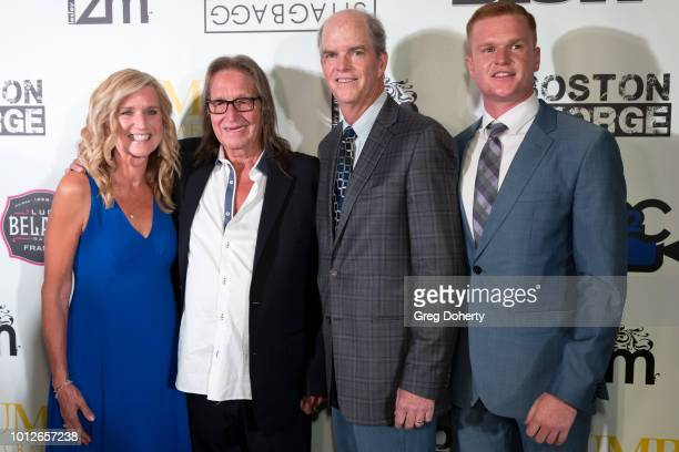 Phylis Titderington George Jung Tim Titderington and Ryan Titderington attend George Jung's Birthday Celebration And Screening Of Blow at TCL Chinese...