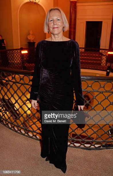 Phyllida Lloyd attends The 64th Evening Standard Theatre Awards at the Theatre Royal Drury Lane on November 18 2018 in London England