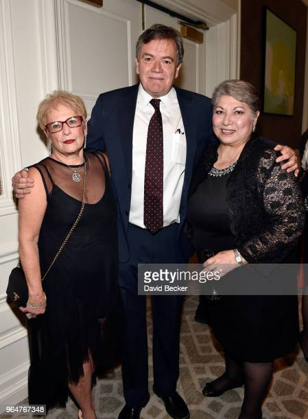 Phyllis Bergman James Pounds and Anna Martin attend the Diamond Empowerment Fund Diamonds Do Good's 2018 Diamonds Do Good award at the Four Seasons...