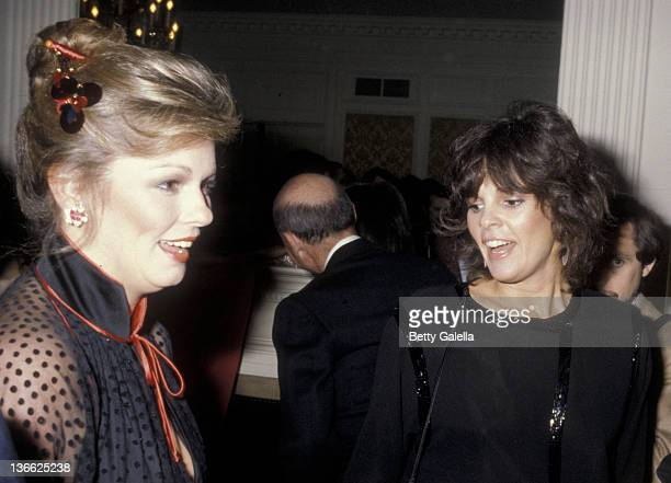 Phyllis Brown and Ali MacGraw attend Ladies Home Journal Women of the Year Awards on November 28 1979 at the Pierre Hotel in New York City