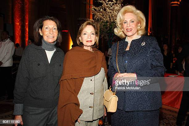 Phyllis Buchwald Naomi Feldman and Harriet Rose Katz attend The FOOD ALLERGY Initiative's Spring Luncheon at Cipriani 42nd Street on April 17 2007 in...