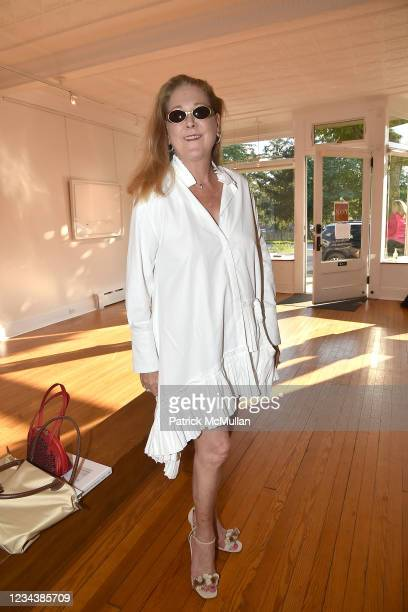 """Phyllis Chase attends the release of Christophe von Hohenberg's new book """"The White Album of The Hamptons"""" and Bruce Helander's """"Collages and Erased..."""
