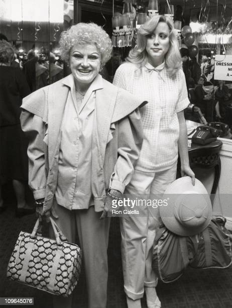 Phyllis Diller and Julie Diller during Young Musicians Foundation's MotherDaughter Fashion Show March 10 1982 at Beverly Hills Hotel in Beverly Hills...