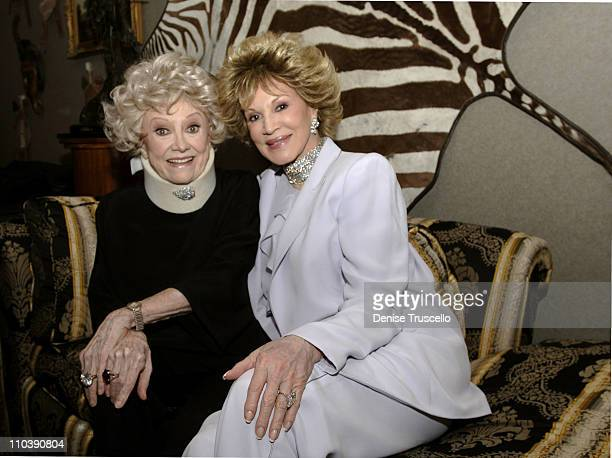 Phyllis Diller and Phyllis McGuire during CineVegas Film Festival 2005 The Aristocrats Party at Brenden Theatres in Las Vegas Nevada United States
