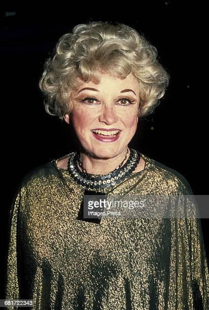 Phyllis Diller circa 1982 in New York City