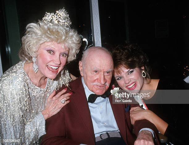 Phyllis Diller guest and Michelle Royer during Stardust New York City Premiere at Biltmore Theater in New York City New York United States