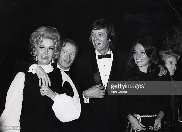 Phyllis Diller Red Buttons Michael Seresin and Jacqueline Bisset