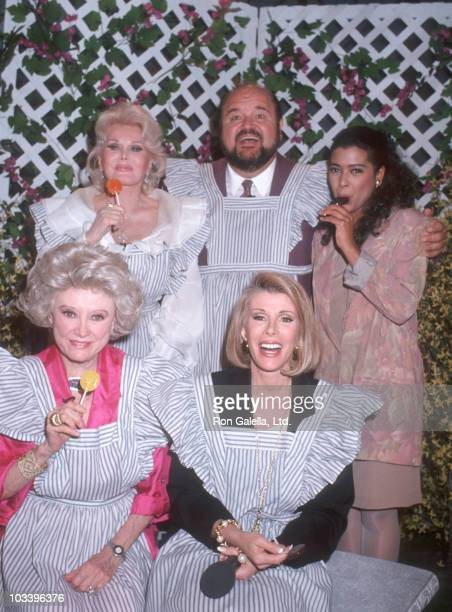 Phyllis Diller Zsa Zsa Gabor Dom DeLuise Joan Rivers and Irene Cara