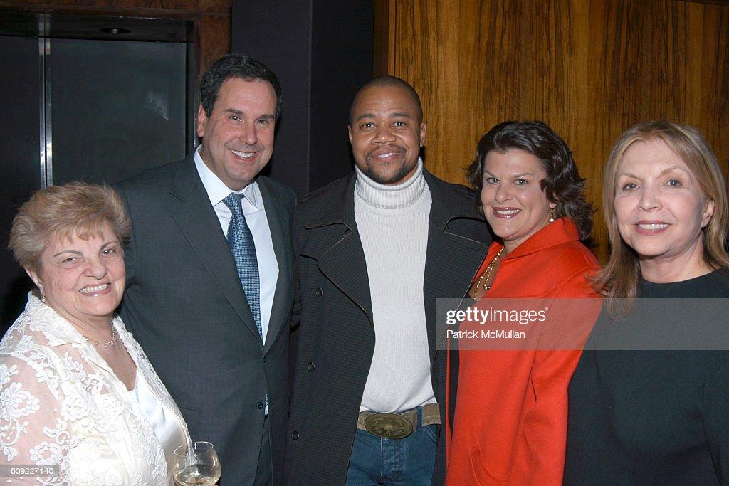 Phyllis Dragona, Steve Sadove, Cuba Gooding Jr., Karen Sadove And Eleanore  Rosenstein