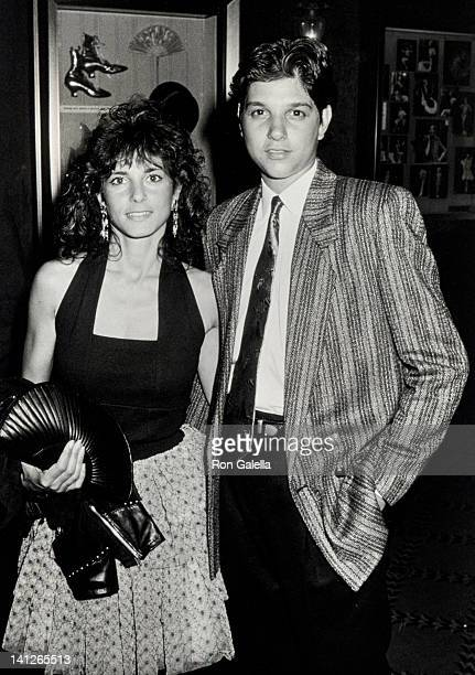 Phyllis Fierro and Ralph Macchio at the Premiere of 'Great Balls of Fire' Ziegfeld Theater New York City