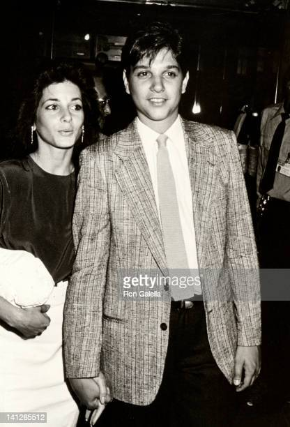 Phyllis Fierro and Ralph Macchio at the Premiere of 'Midnight Run' Sutton Theater New York City