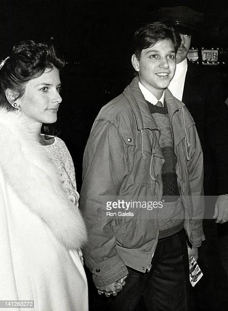 Phyllis Fierro and Ralph Macchio at the Premiere Party for 'A New Life' Tavern on the Green New York City
