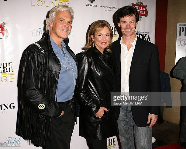 Phyllis George and Paul Turcotte during Livestyle's AFI Premiere Lounge 2005 Screening of LIttle Athens After Party Hosted by Bacardi Svedka Vodka...