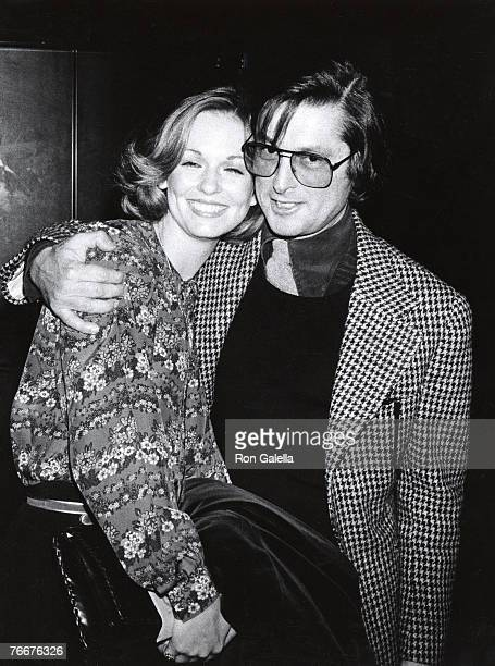 Phyllis George and Robert Evans