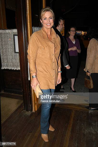 Phyllis George attends A Private Screening of FOX 2000 PICTURES New Release In Her Shoes at La Goulue on October 2 2005 in New York City