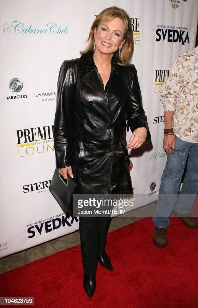 Phyllis George during Livestyle's AFI Premiere Lounge 2005 Screening of LIttle Athens After Party Hosted by Bacardi Svedka Vodka Stella Artois and...
