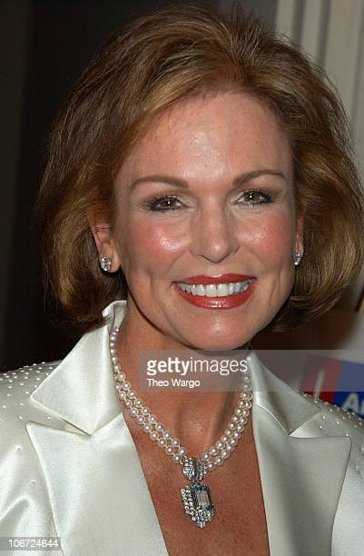 Phyllis George during New York's First Lady Libby Pataki Honored with the American Cancer Society's Humanitarian Award at The Pierre Hotel in New...