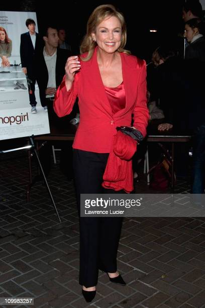 Phyllis George during Shopgirl New York City Premiere Arrivals at Beekman Theater in New York City New York United States