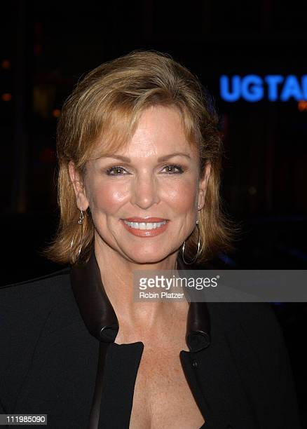 Phyllis George during Sinatra His Voice His World His Way Opening Night at Radio City Music Hall at Radio City Music Hall in New York City New York...