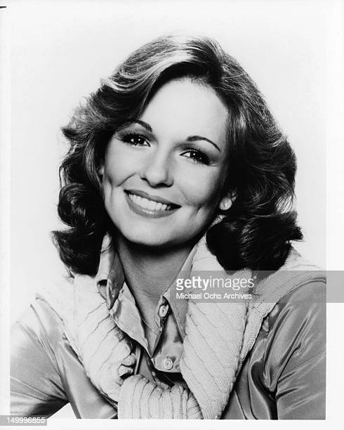 Phyllis George in a publicity portrait for the CBS television network 'People' 1978