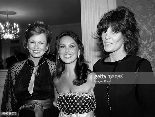 Phyllis George Marlo Thomas and Ali McGraw circa 1979 in New York City