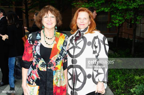 Phyllis Green and Peggy Grieve attend the 2018 Change Maker Awards at Carnegie Hall on May 7 2018 in New York City