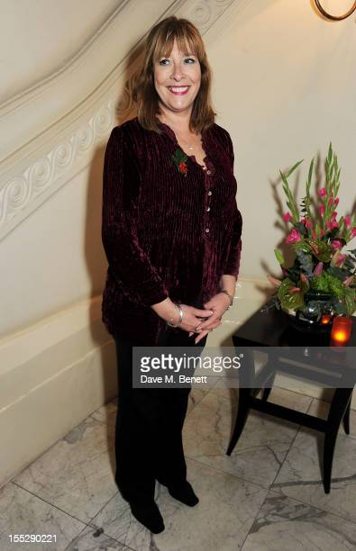 Phyllis Logan attends an after party following the press night performance of 'Uncle Vanya' at The Charing Cross Hotel on November 2 2012 in London...