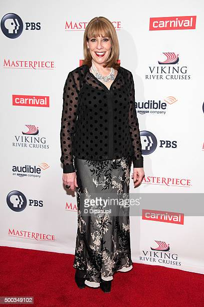 Phyllis Logan attends the 'Downton Abbey' series season six premiere at the Millenium Hotel on December 7 2015 in New York City