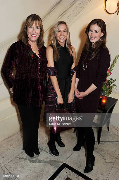 Phyllis Logan Joanne Froggatt and Amy Nuttall attend an after party following the press night performance of 'Uncle Vanya' at The Charing Cross Hotel...