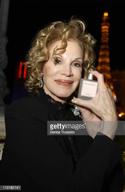Phyllis McGuire during Flowerbelle Perfume Launch Designed By Jeneva Bell at Bellagio Hotel in Las Vegas Nevada United States