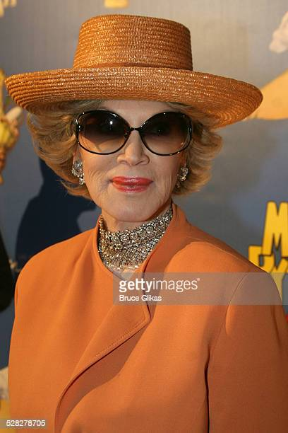 Phyllis McGuire during Opening Night For Spamalot At The Wynn Las Vegas Arrivals at Wynn Hotel Casino in Las Vegas Nevada United States