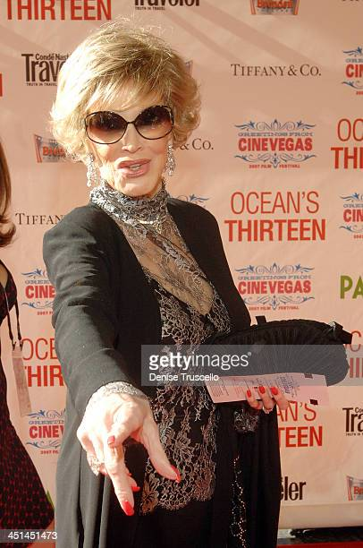Phyllis McGuire during The CineVegas Film Festival Opening Night Screening of Ocean's Thirteen Red Carpet at The Palms Hotel and Casino A Maloof...
