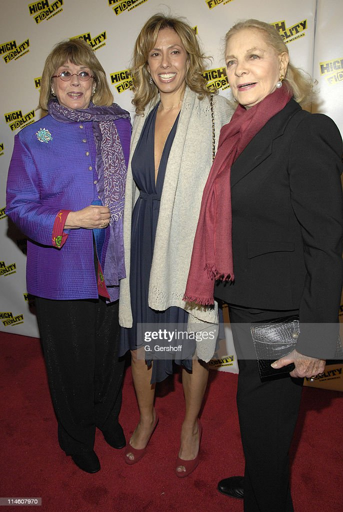 Phyllis Newman, Amanda Green and Lauren Bacall during 'High Fidelity' Broadway Opening - December 7th, 2006 at Imperial Theatre in New York City, New York, United States.