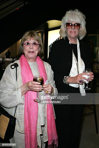 Phyllis Newman and Alexandra Schlesinger attend A Special Screening of MOLIERE at Sony Screening Room on July 16 2007 in New York City