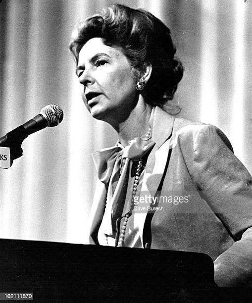 APR 25 1981 APR 26 1981 Phyllis Schlafly A leading advocate against the passage of the ERA