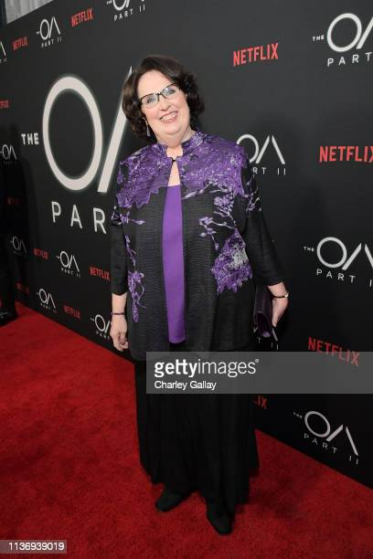 Phyllis Smith attends THE OA PART II at Bing Theatre At LACMA on March 19, 2019 in Los Angeles, California.