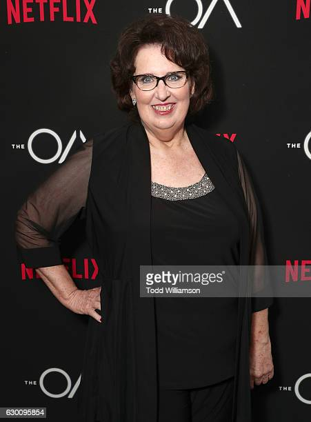 """Phyllis Smith attends the premiere of Netflix's """"The OA"""" at the Vista Theatre on December 15, 2016 in Los Angeles, California."""