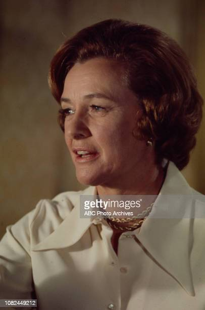 Phyllis Thaxter appearing on the Walt Disney Television via Getty Images tv movie 'Incident in San Francisco'