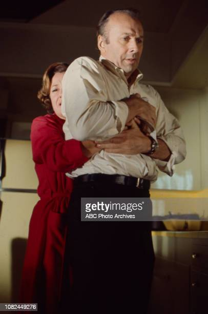 Phyllis Thaxter Richard Kiley appearing on the Walt Disney Television via Getty Images tv movie 'Incident in San Francisco'