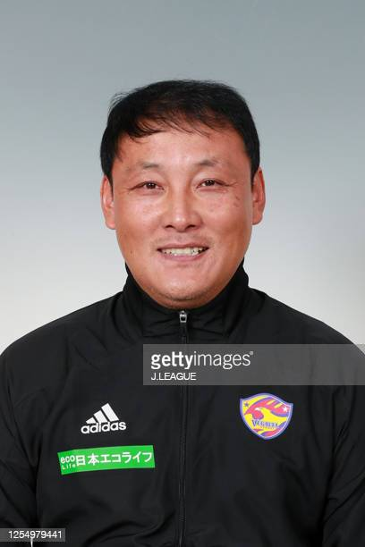 Physical coach Yi Chang Yeob poses for photographs during the Vegalta Sendai portrait session on January 9, 2020 in Japan.