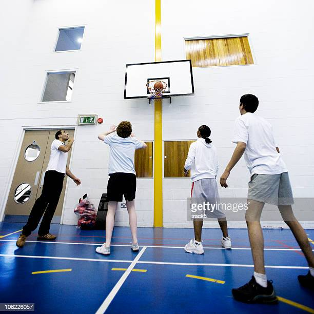 physical education: basketball lessons