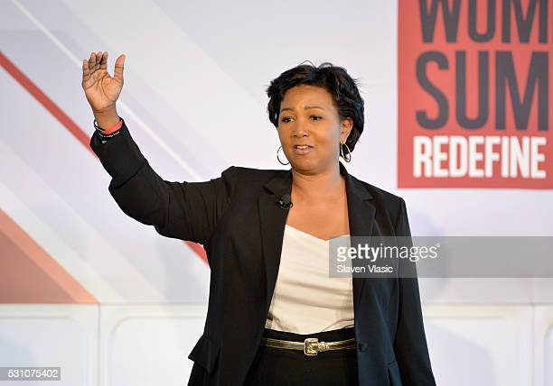 Physician and NASA astronaut Mae Jemison speaks onstage during the 2016 Forbes Women's Summit at Pier Sixty at Chelsea Piers on May 12 2016 in New...