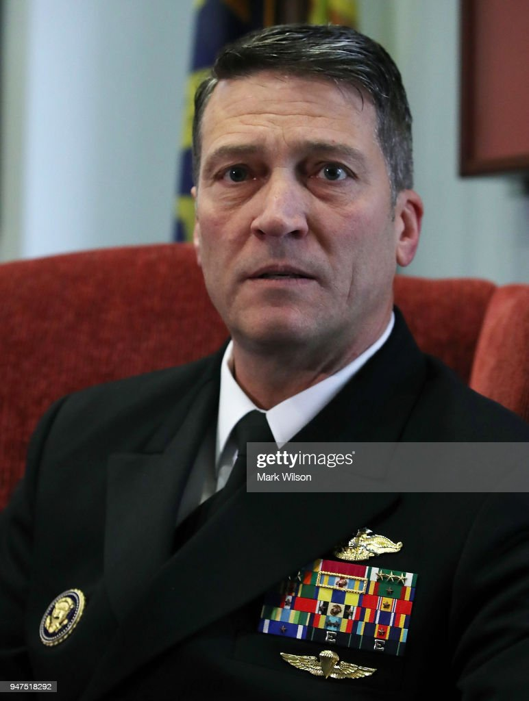 Sen. Jon Tester Meets With Veterans Affairs Secretary Nominee Ronny Jackson