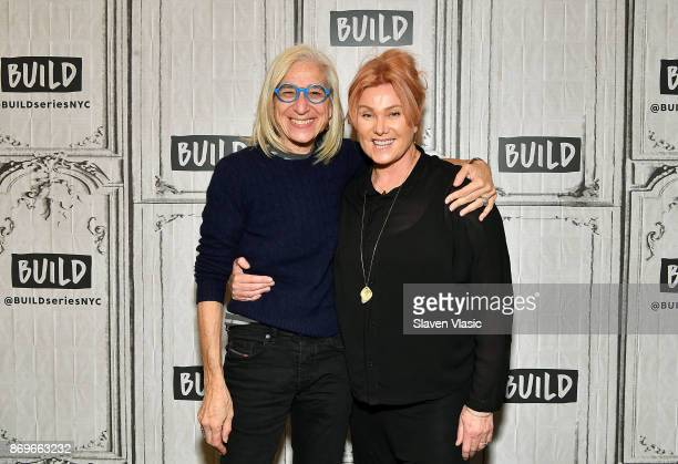 Physician/author Dr Jane Aronson and actress/producer Deborralee Furness visit Build to discuss Worldwide Orphans' 20th Anniversary at Build Studio...