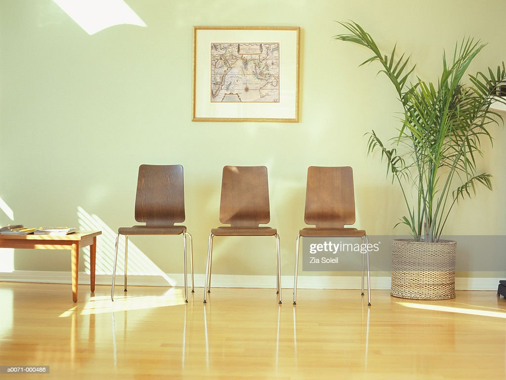 Physician's Waiting Room : Stock Photo