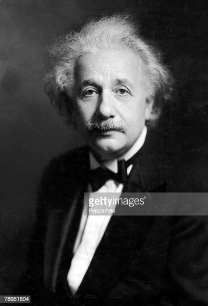 US Physicist and mathematcian Albert Einstein 1879 1955 who formulated the theory of relativity in 1916 and was awarded the Nobel Prize for physics...