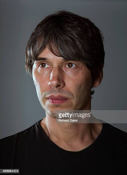 Physicist and tv presenter Brian Cox is photographed for the Observer on September 19 2014 in London England